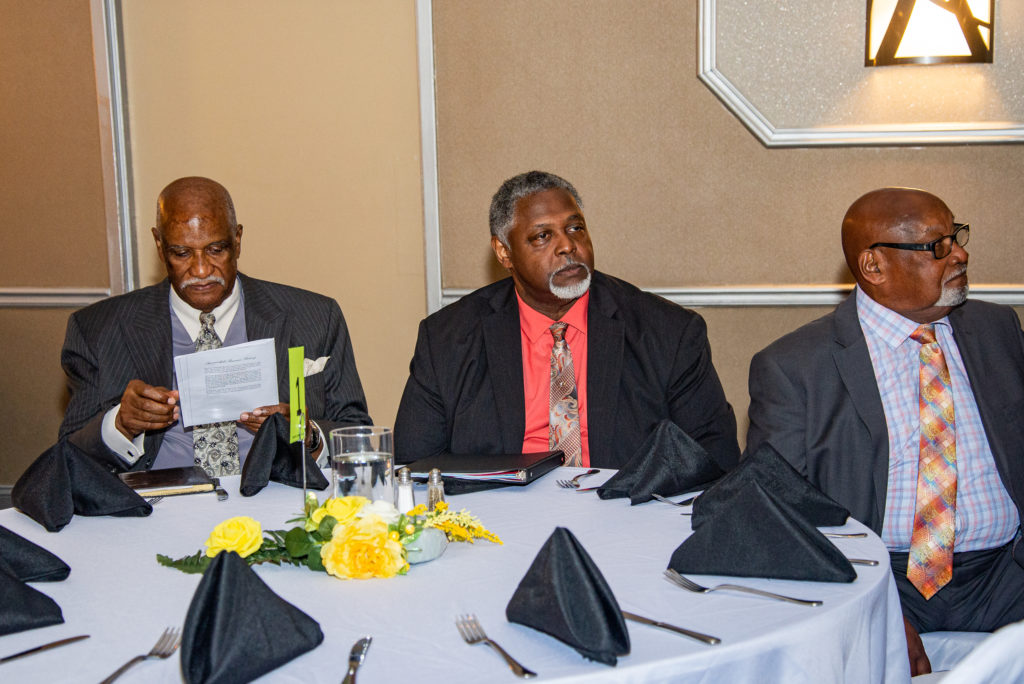 SUMMERHILL COMMUNITY BREAKFAST  JUNE 15, 2019  Walter Kimbrough, Pastor Grier  Geoffrey Heard